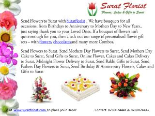 Send Mothers Day Flowers to Surat