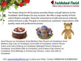 Send Birthday Flowers to Faridabad