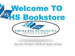 HSbookstore - Source of your Medical Book Online