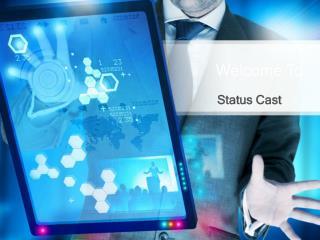 Application Status Page