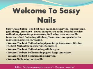 Nails Salon in Sevierville TN