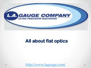 All about flat optics