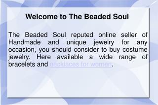 The Beaded Soul reputed online shop to buy handmade Rhinesto