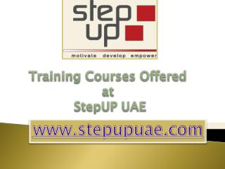 Training Courses Dubai