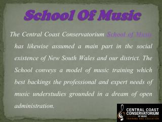 Discover the Music Program Learning School in Australia