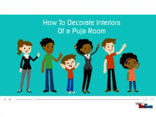 How to Decorate Interiors of a Puja Room.pptx