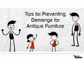 Tips to Preserve Antique Furniture from Damage