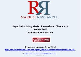 Reperfusion Injury Market Updays and Report Review 2015