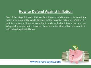How to Defend Against Inflation