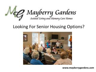 Senior Housing Option - Denton