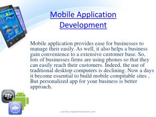 mobile application development, mobile application developme