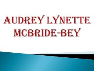 Audrey Lynette McBride-Bey