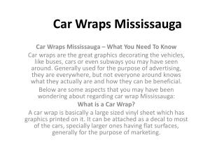 Vehicle Wraps Mississauga  | vehicle wraps mississauga