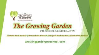 Redondo Beach preschool | El Segundo preschool | Growinggard
