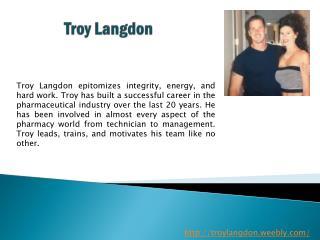 Troy Langdon