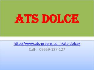 ATS Dolce 2BHK, 3BHK and 4BHK Zeta 1 Greater Noida