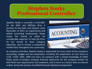 Stephen Souky - Professional Controller