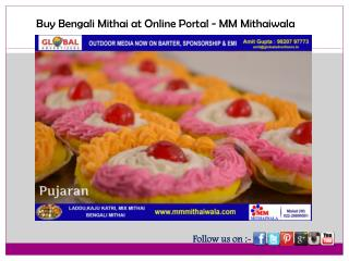 Buy Bengali Mithai at Online Portal - MM Mithaiwala