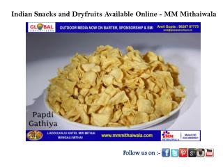Indian Snacks and Sweets Shop Online - MM Mithaiwala