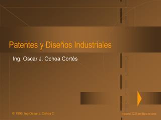 Patentes y Dise os Industriales