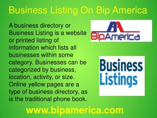 Free Online Business Listing  Site