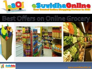 Best Offers on Online Grocery