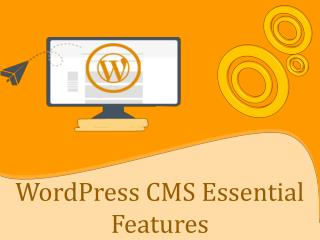 Wordpress Essential Features - Saga Biz Solutions