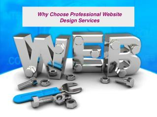Why Choose Professional Website Design Services
