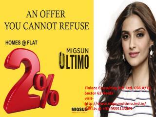 Mahaluxmi Migsun Ultimo Greater Noida- 9555143401