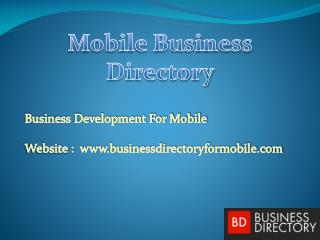 List Of Mobile Business Directory