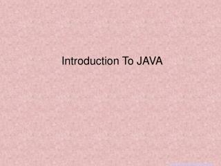 MyAssignmenthelp.Net : Learn Java At Your Tips