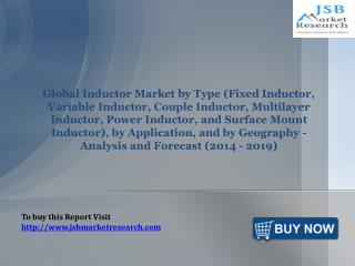 JSB Market Research: Global Inductor Market
