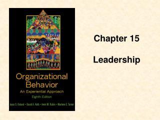 Chapter 15  Leadership