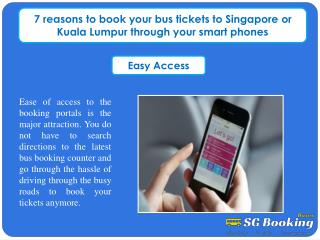 7 reasons to book your bus tickets to Singapore or Kuala Lum