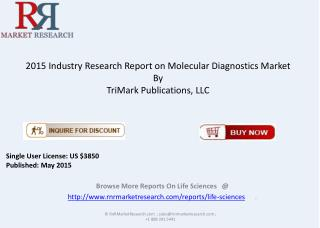 Global Molecular Diagnostics Market Overview 2015