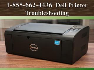#1 855 662 4436 DELL Printer Not Responding