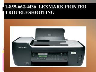 #1 855 662 4436 Lexmark Printer Not Responding-Printer Not C