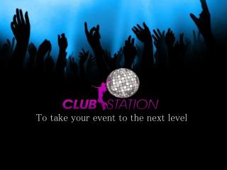 Club Station - Sound & Lighting Hire Melbourne