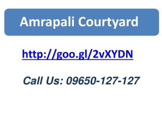 Amrapali courtyard Is Flats Apartment