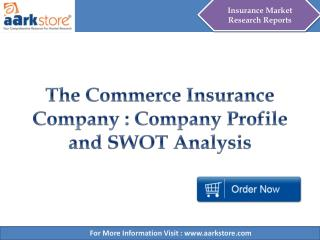 Aarkstore - The Commerce Insurance Company : Company Profile