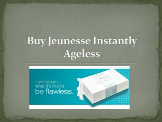 Buy Jeunesse Instantly Ageless