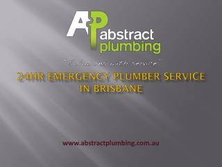 24hr Emergency Plumber Service in Brisbane