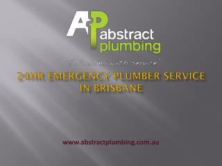 24hr Emergency Plumber Service in Brisbane