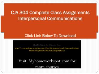 CJA 423 Complete Class All DQs and Assignments Cultural Dive