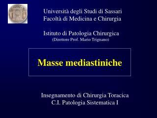 Masse mediastiniche