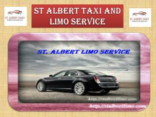 St Albert Airport Limo