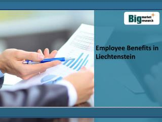 Employee Benefits in Liechtenstein- Industry, Analysis, Info