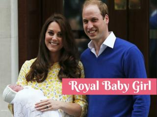 Royal Baby Girl