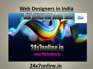 Web Designers in India