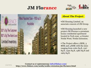 JM Housing is here with there new project, named JM Florance